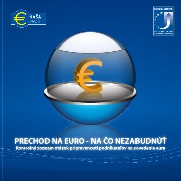 prechod na euro - Enterprise Europe Network
