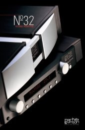 No32 Brochure - Mark Levinson