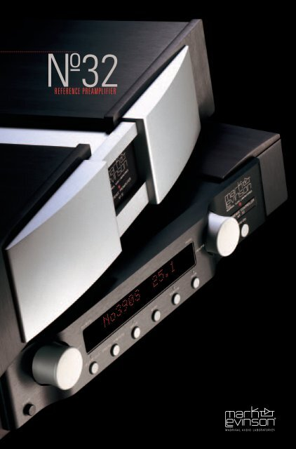 No32 Brochure - Mark Levinson
