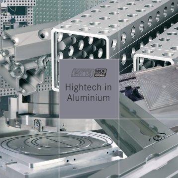 Hightech in Aluminium