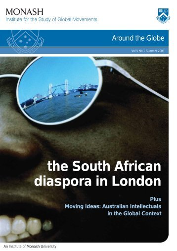 the South African diaspora in London - Monash Institute for the ...
