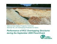 Performance of RCC Overtopping Structures during the September ...
