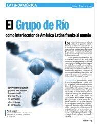 como interlocutor de América Latina frente al mundo - Revista ...