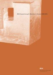 BDA-Auszeichnung für Baukultur in Hessen 2009 ... - Architekten24.de