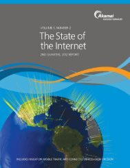 State of the Internet, 2012 Akamai Report - New Hampshire Division ...