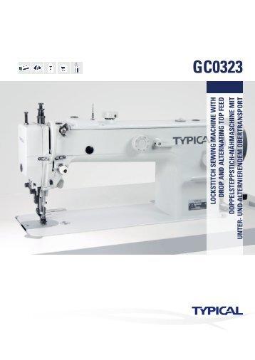 GC0323 - Masini Confectii Textile