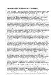 Schüler-Bericht von der 3. Runde 2007 in Geesthacht - Chemie - die ...