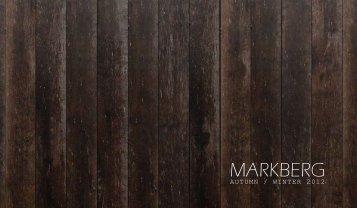 AUTUMN / WINTER 2012 - Markberg