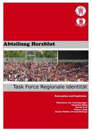 Abteilung Herzblut Task Force Regionale Identität