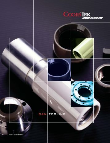 Can Tooling Products - CoorsTek