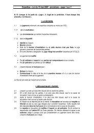 Expertise – Loi du 15 mai 2007 - procédure – page 1 sur 7. - Juridat