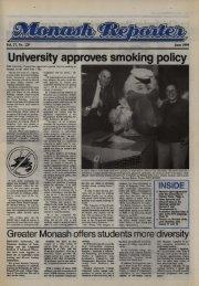 University approves smoking policy - Adm.monash.edu - Monash ...