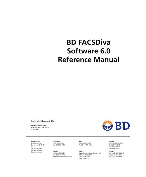 download Bd facsdiva software