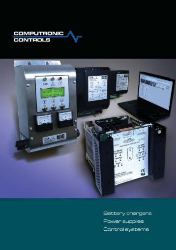 Computronic Controls Battery Charger Catalog - FWMurphy