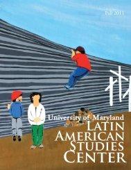 Fall 2011 - Latin American Studies Center - University of Maryland
