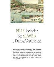 Frie kvinder og slaver i Dansk Vestindien - Siden Saxo