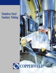 Stainless Steel Sanitary Tubing - Bay Port Valve & Fitting