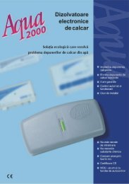 Brosura generala dizolvatoare Aqua(pdf) - Scanrom-se.ro