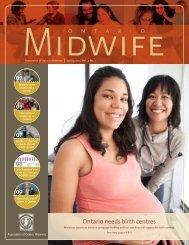 Ontario needs birth centres - Association of Ontario Midwives