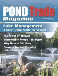 Download the July / August 2012 PDF - Pond Trade Magazine