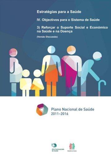 Estratégias para a Saúde - Plano Nacional de Saúde 2012 – 2016