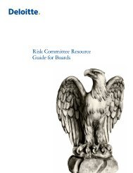 Risk Committee Resource Guide for Boards - Center for Corporate ...