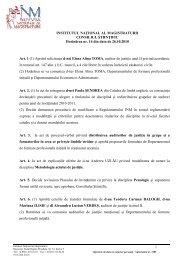Hotararea 14_28_10_2010.pdf - Institutul Naţional al Magistraturii