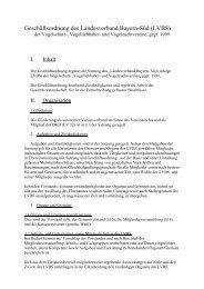 Geschäftsordnung des Landesverband Bayern-Süd (LVBS) - LVBS 32