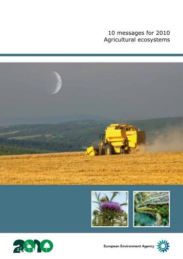 Agricultural ecosystems - Convention on Biological Diversity