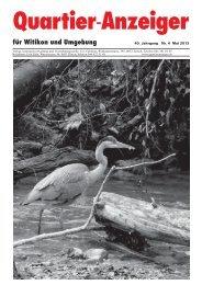 Ausgabe 4, Mai 2013 - Quartier-Anzeiger Archiv