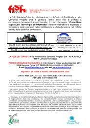 scheda dettagliata - CSV Catanzaro