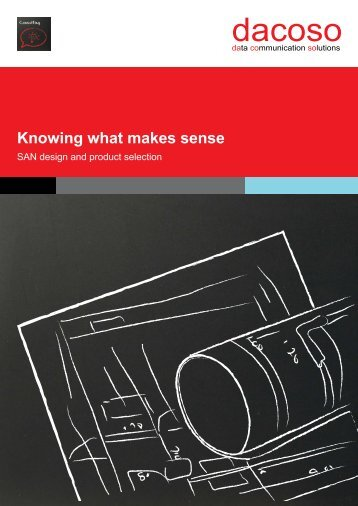 Knowing what makes sense - dacoso