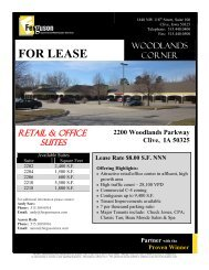 For Sale or Lease - Property Line