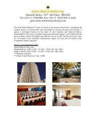 Alameda Santos, 1437 Sao Paulo, BRAZIL Tel: (55) 11 31465900 ...