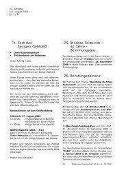 74. Fest des heiligen Gebhard 75. Diözese Feldkirch – 40 Jahre ...
