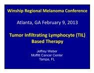 Tumor-infiltrating lymphocyte (TIL) - Winship Cancer Institute of ...