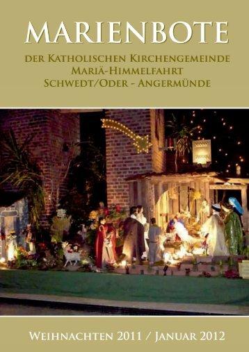 Dezember 2011 / Januar 2012 - Katholische Kirchengemeinde ...