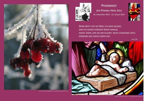PFARRBRIEF - Katholische Pfarrei Herz Jesu