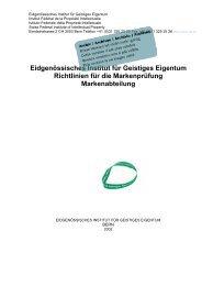 Richtlinien für die Markenprüfung, 2002