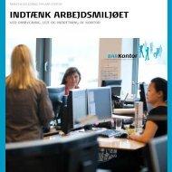 INDTÆNK ARBEJDSMILJØET - BAR - privat kontor.