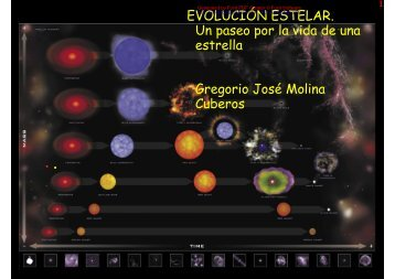EVOLUCIÓN ESTELAR. Un paseo por la vida de una estrella ...
