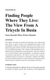 Finding People Where They Live: The View From A Tricycle ... - Source