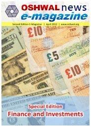 Second Edition E-Magazine | April 2012 | www ... - Oshwal Centre