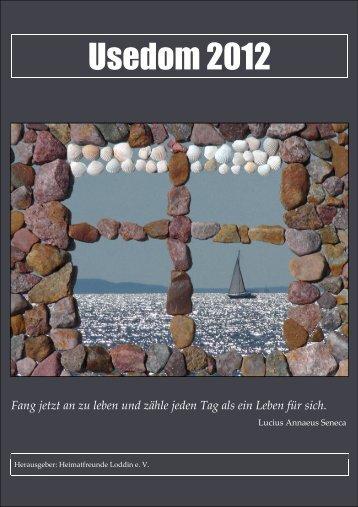 Kalender 2012 - Steinbock-Ferienwohnungen auf Usedom