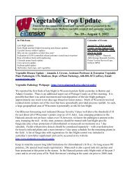 Vegetable Crop Update 8/1/12 with Supplement - Integrated Pest ...