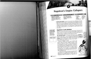 Napoleon's Empir~ Collapses