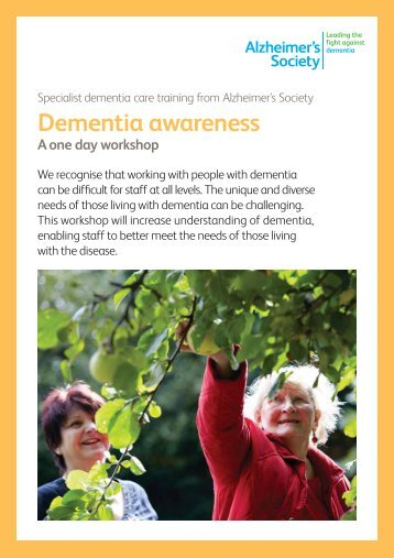 Dementia Awareness - One East Midlands