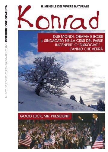 due mondi: obama e bossi il sindacato nella crisi del paese ... - Konrad