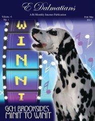 Download Feb/ Mar 2013 Edition in PDF - E Dalmatians