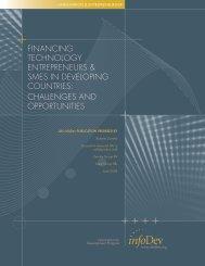financing technology entrepreneurs & smes in developing ... - infoDev